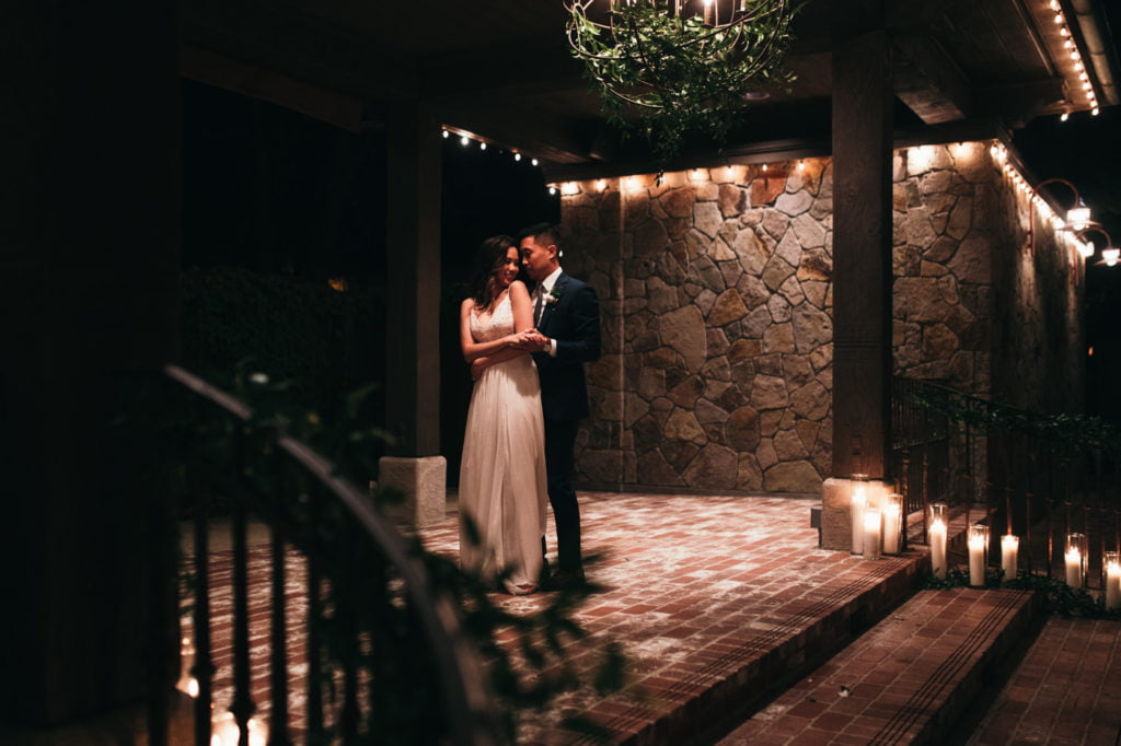 glam wedding in napa valley